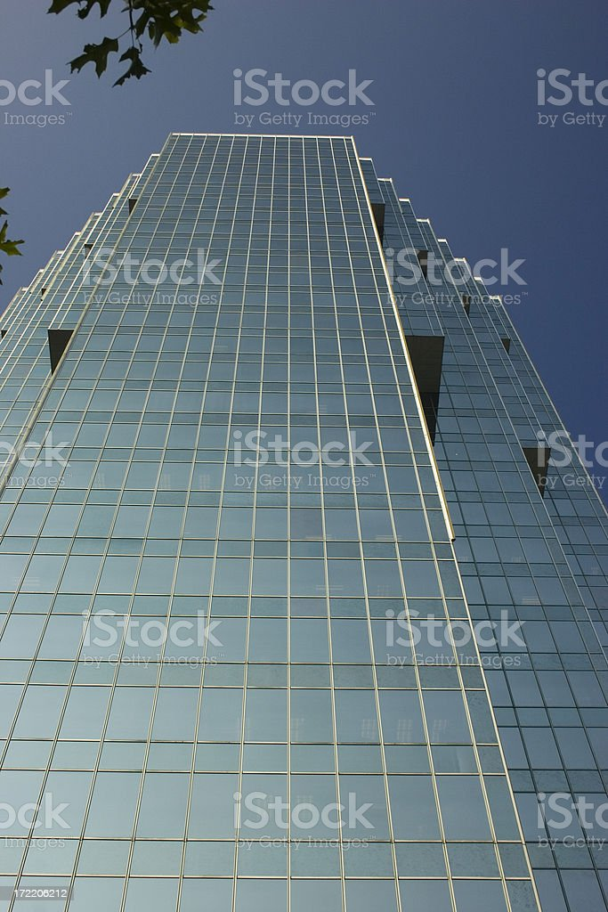 Atlanta Modern Architecture royalty-free stock photo