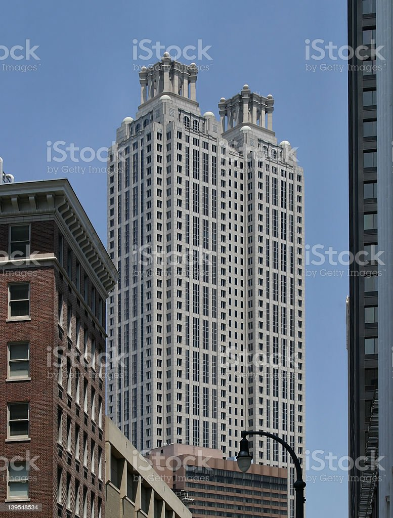 Atlanta Old and New royalty-free stock photo