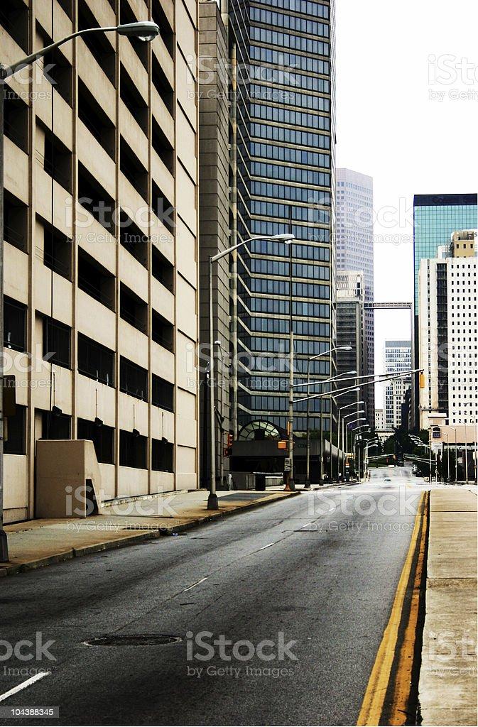 Atlanta_city2 royalty-free stock photo