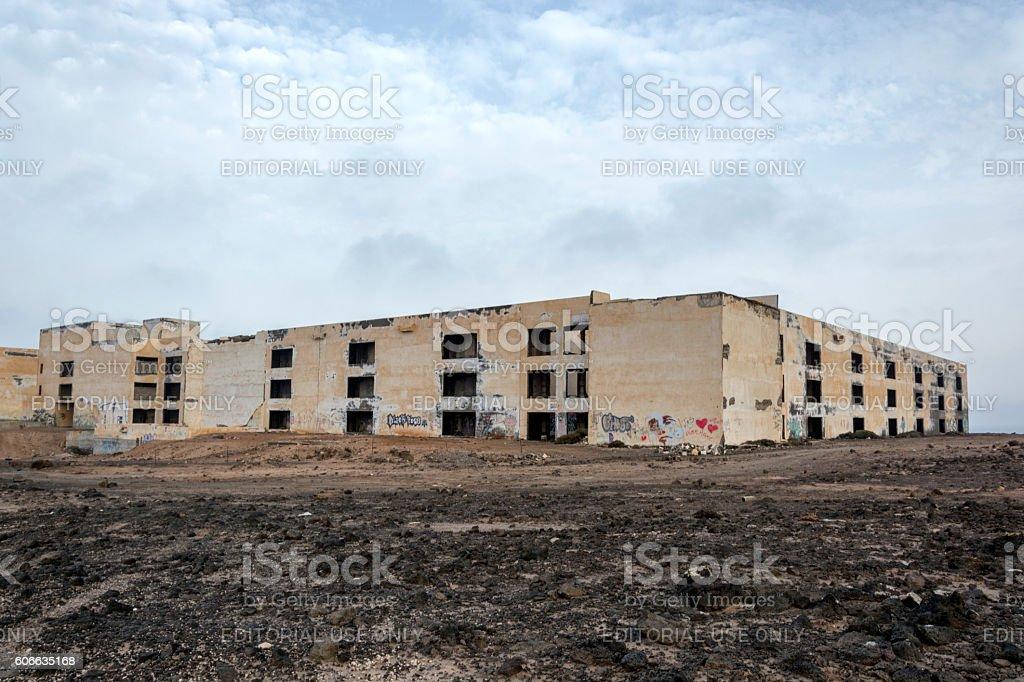 Atlante del Sol Hotel Lanzarote stock photo