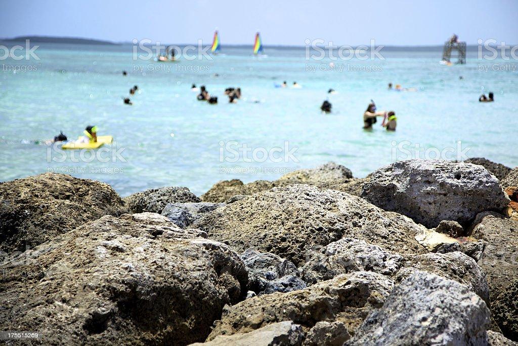 Atlantic Bahamas ocean tropical beauty stock photo