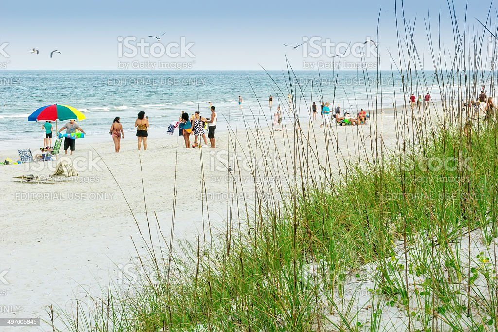Atlantic Beach stock photo