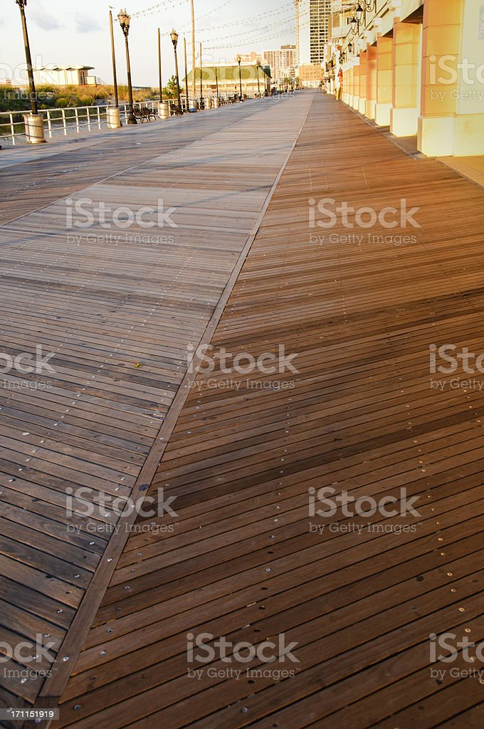 Atlantic City Board Walk stock photo
