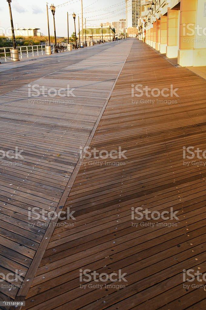 Atlantic City Board Walk stock photo
