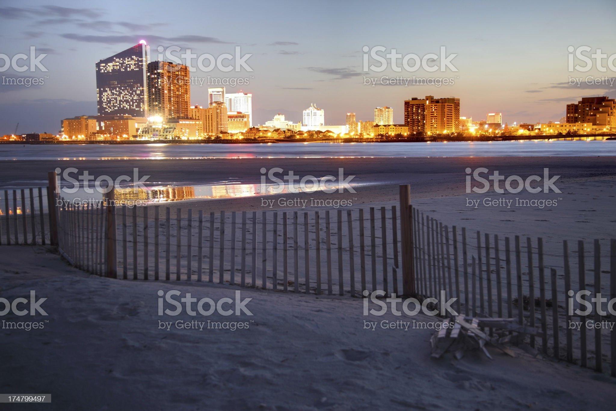 Atlantic City royalty-free stock photo