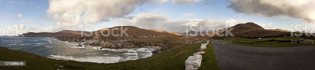 Atlantic Drive, Achill Island, Ireland stock photo