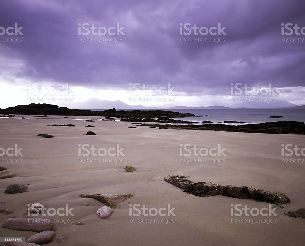 Atlantic Drive Beach, Co. Mayo, Ireland royalty-free stock photo