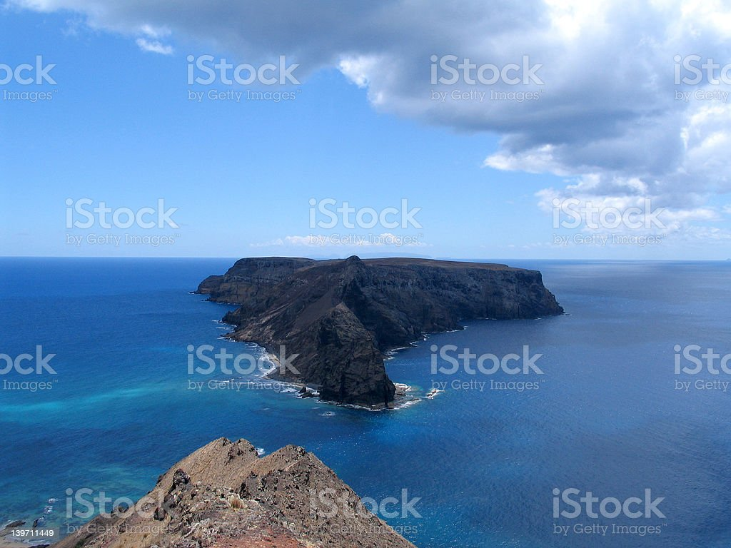 Atlantic Island royalty-free stock photo