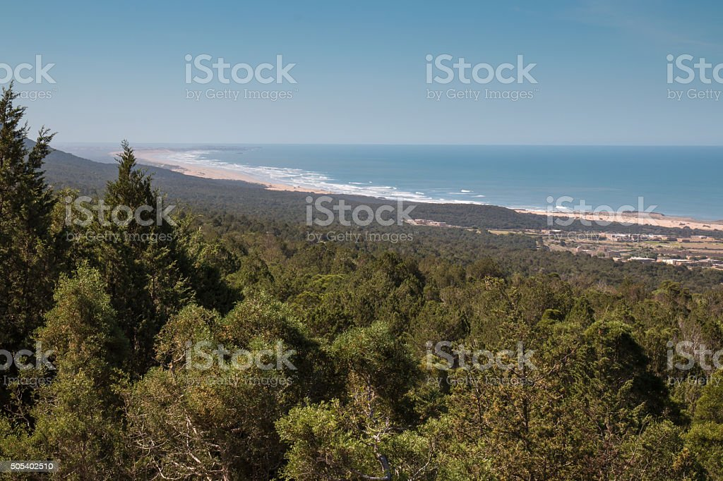 Atlantic Ocean Coast, Morocco stock photo