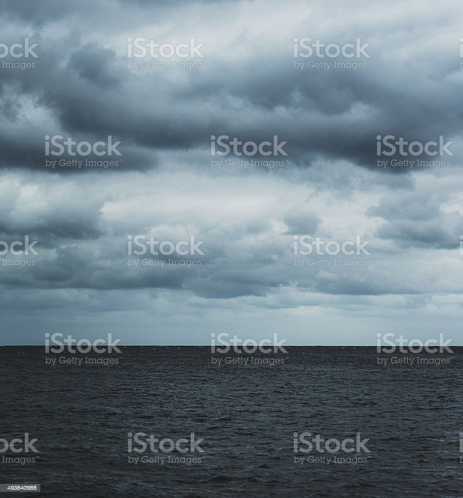 Atlantic Skies stock photo