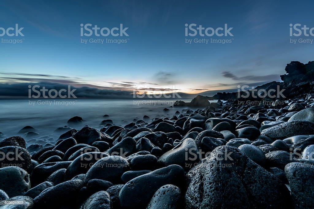Atlantic sunrise stock photo