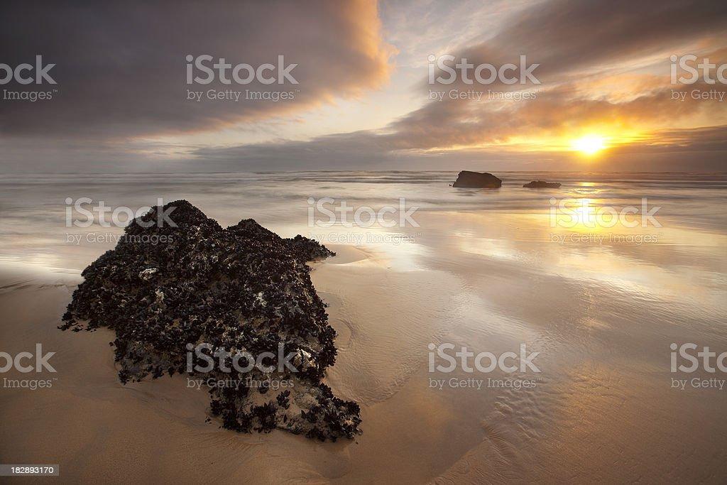 Atlantic Sunset. royalty-free stock photo