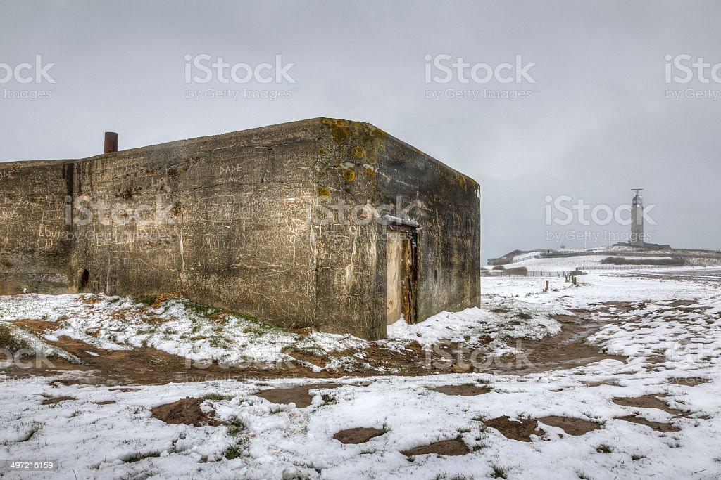 Atlantic Wall, France stock photo