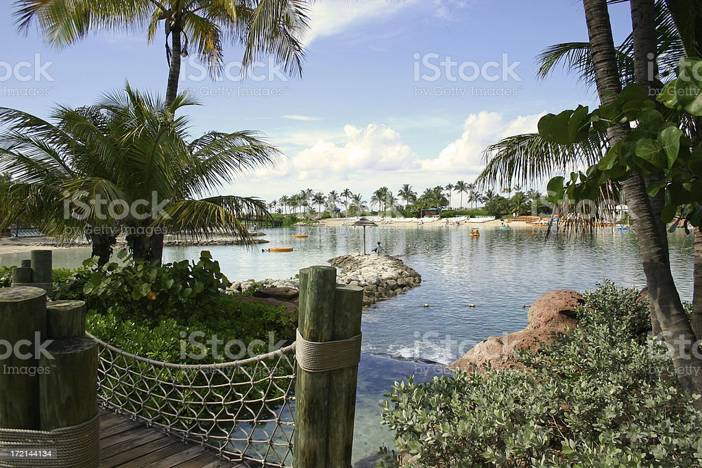 Atlantis Lagoon royalty-free stock photo