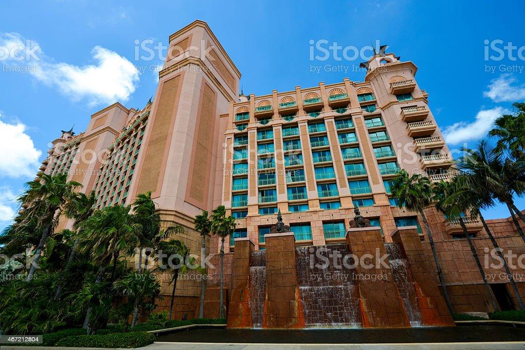 Atlantis Nassau Bahamas stock photo