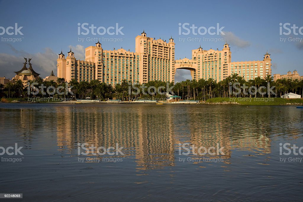 Atlantis Resort and Casino royalty-free stock photo