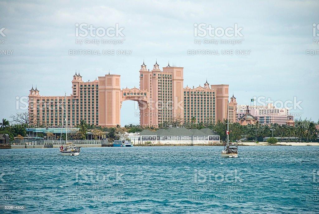 Atlantis Resort, Paradise Island stock photo