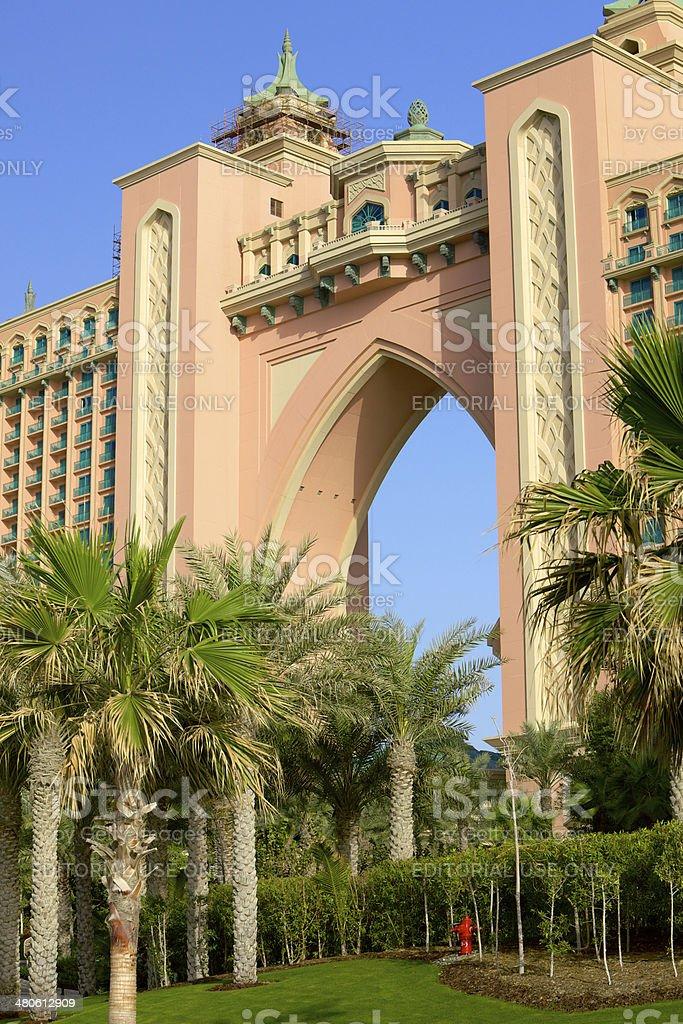 Atlantis, the Palm - Dubai, United Arab Emirates stock photo