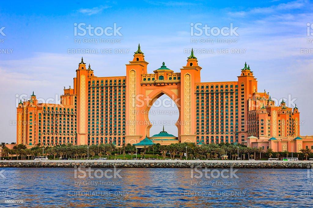Atlantis, The Palm, Dubai, United Arab Emirates stock photo