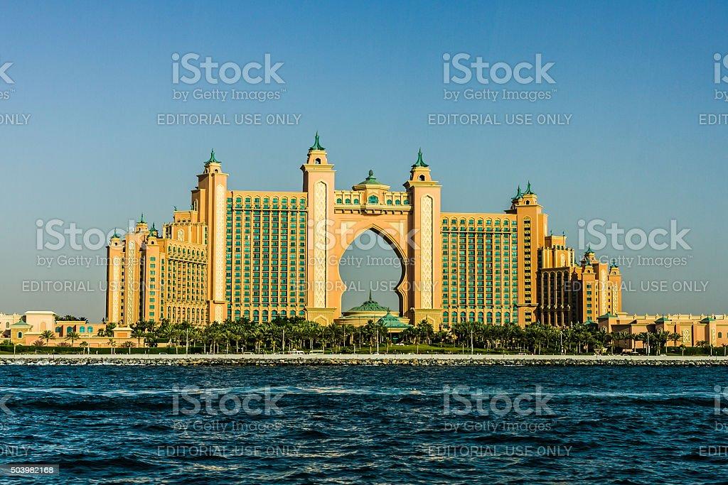 Atlantis, The Palm Jumeirah - Dubai stock photo