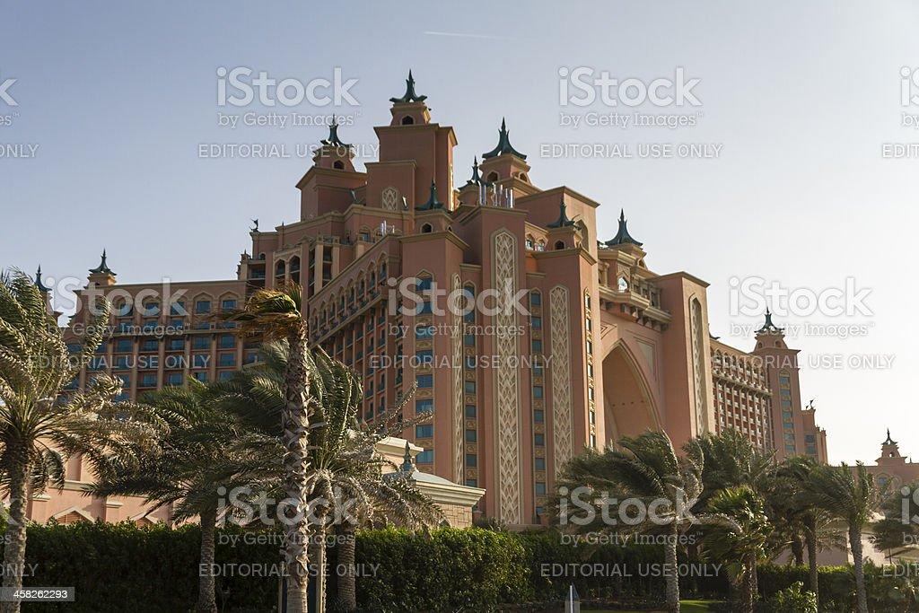 Atlantis The Palm Jumeirah Hotel stock photo