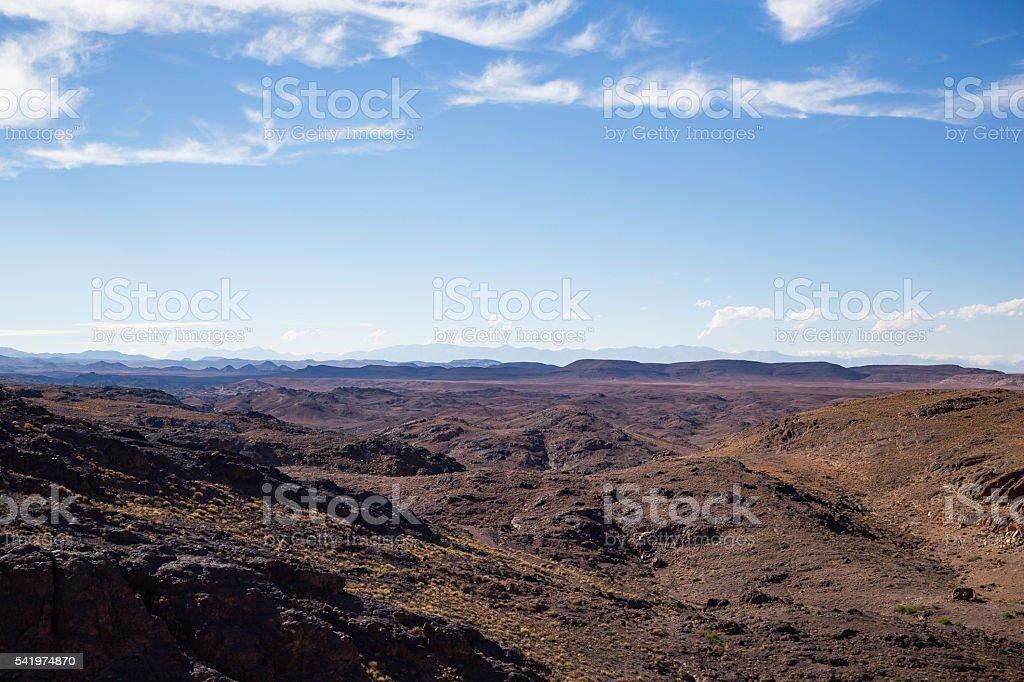Atlas Mountain stock photo