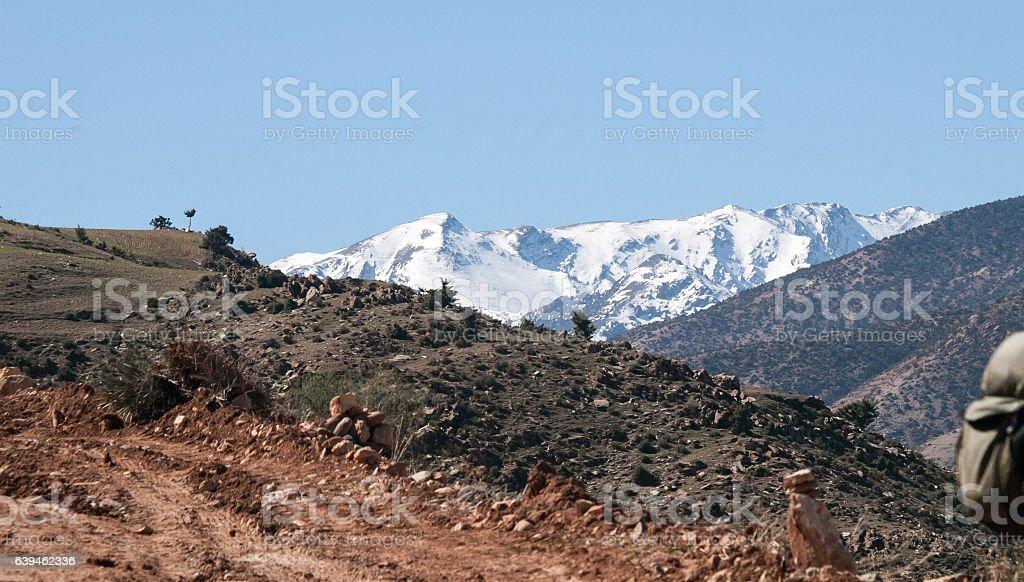 Atlas  Mountains , Marrakesh stock photo