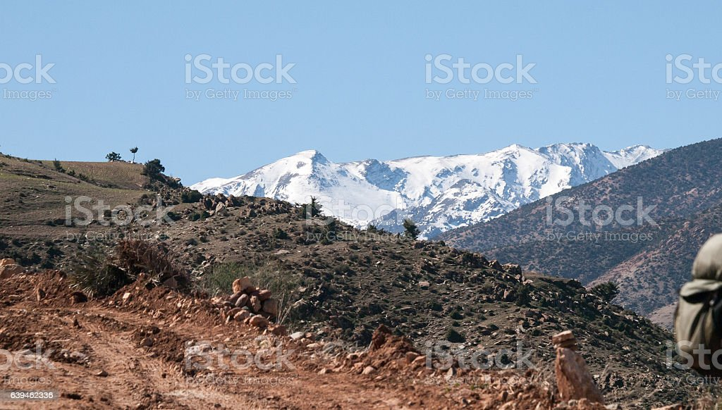 Atlas  Mountains , Marrakesh stock photo