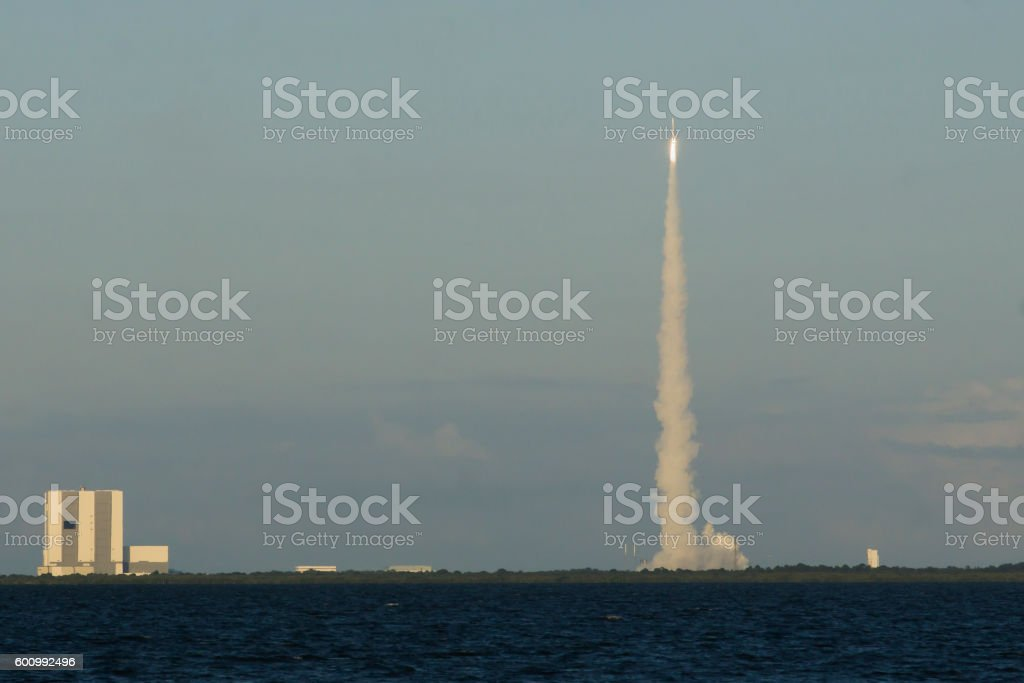 Atlas V Rocket stock photo