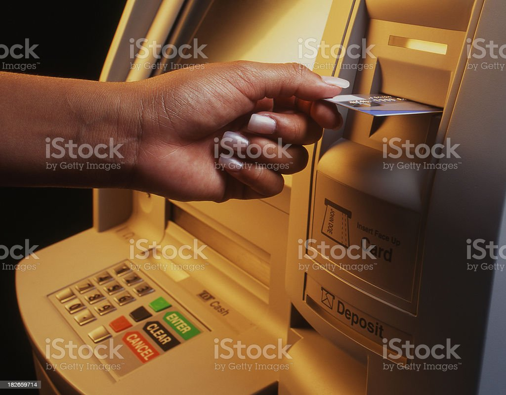 AtM Machine 2 royalty-free stock photo