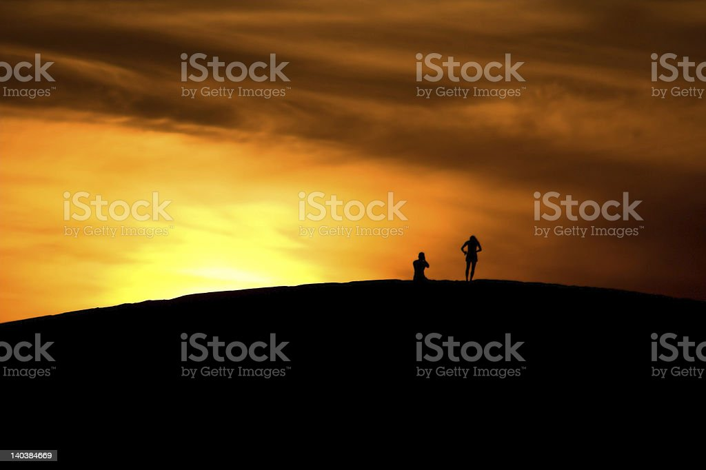 'Atmosphere', Beach, Sunsets 2 royalty-free stock photo
