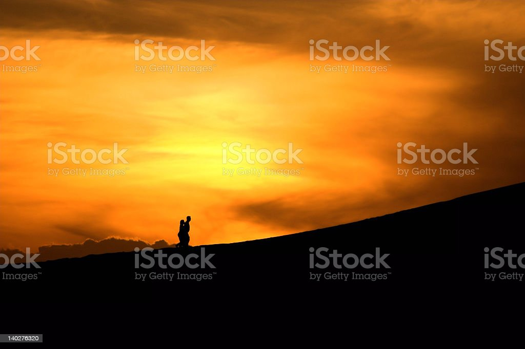 'Atmosphere', Beach, Sunsets royalty-free stock photo