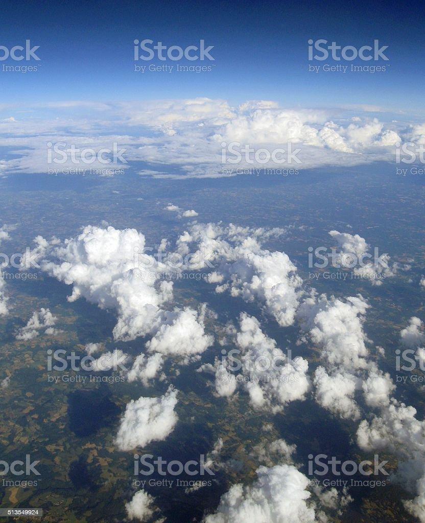 Atmosphere stock photo