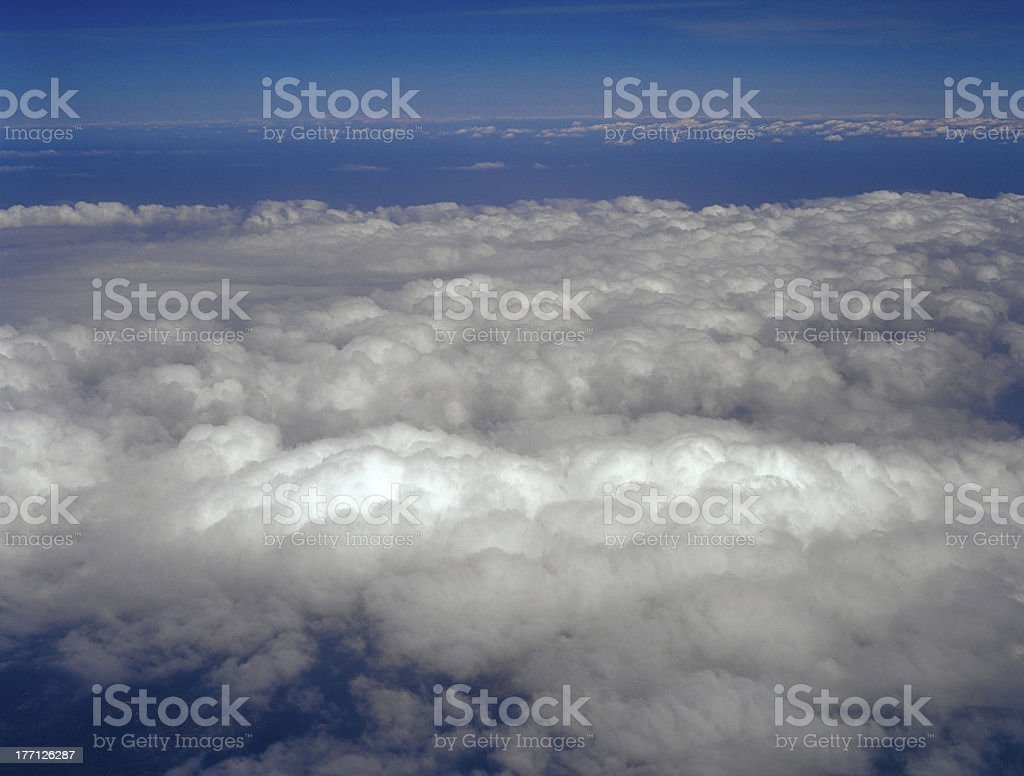 Atmosphere - sky and clouds. royalty-free stock photo