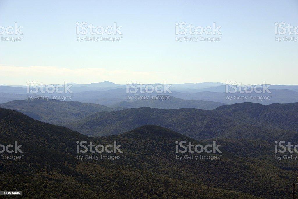 Atmospheric effect stock photo