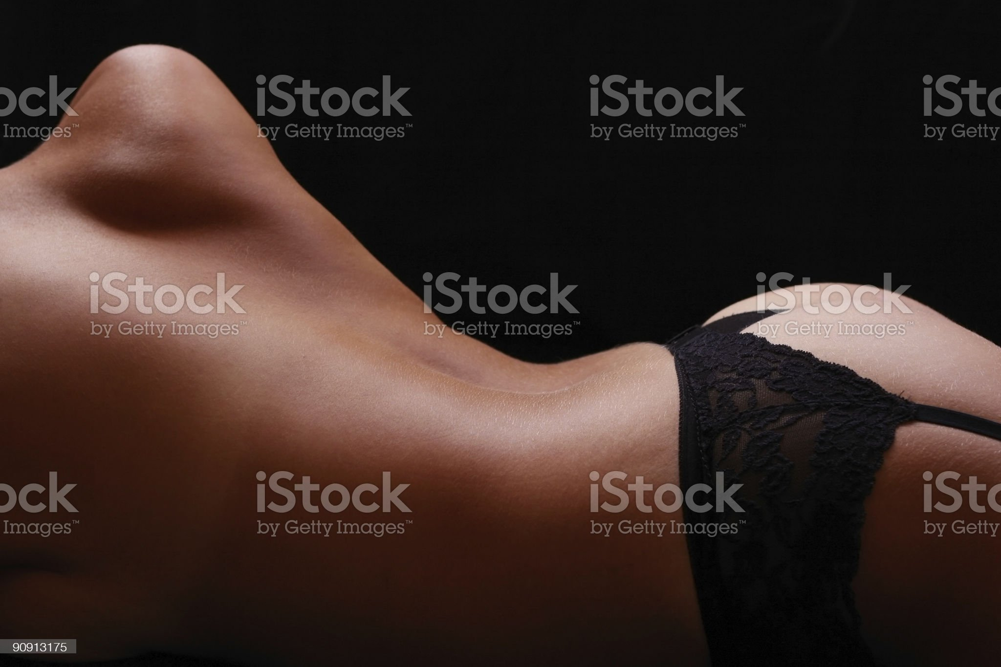Atmospheric Nude royalty-free stock photo