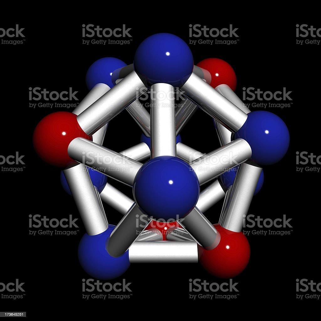 Atom Molecule royalty-free stock photo