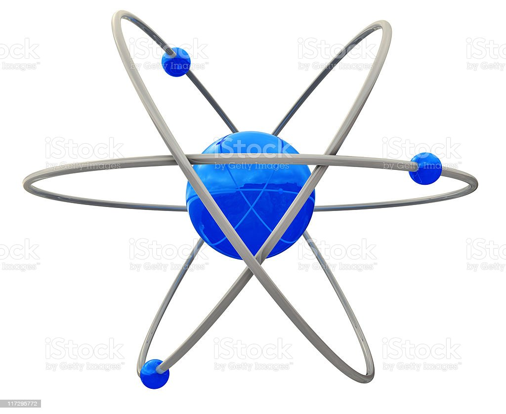 Atom royalty-free stock photo