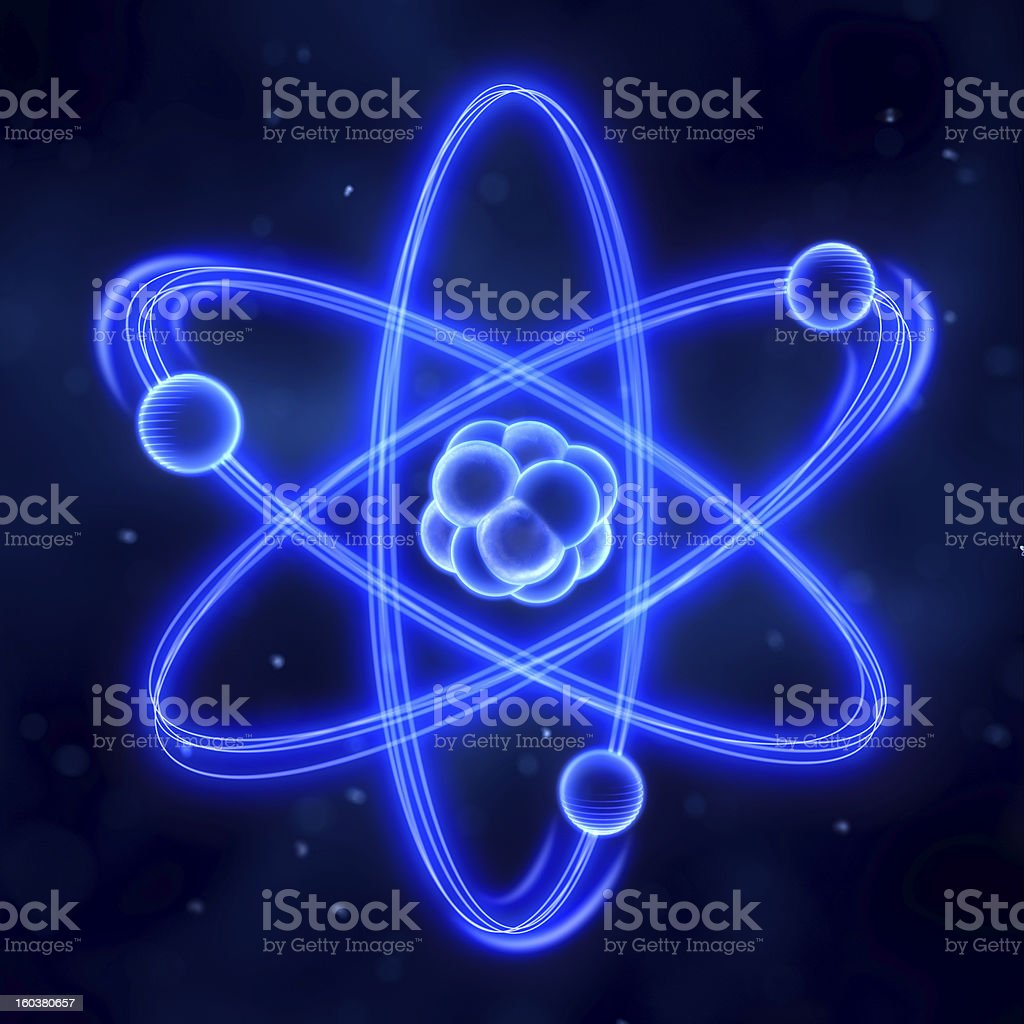atom stock photo