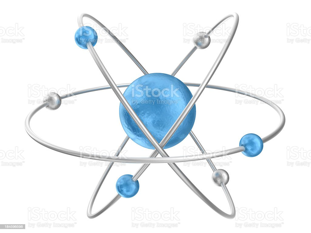 Atom royalty-free stock photo