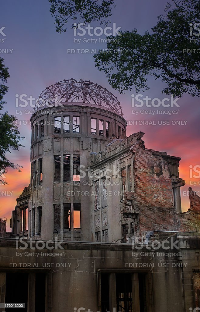 Atomic Bomb Bome, Hiroshima royalty-free stock photo