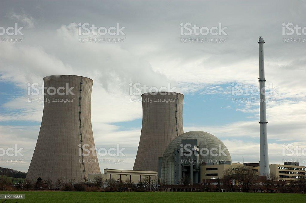 atomic power plant royalty-free stock photo