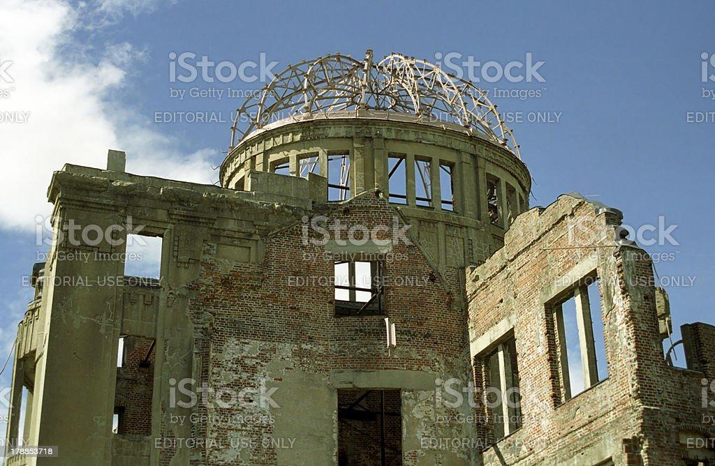 Atomic-Bomb Dome, Hiroshima, Japan royalty-free stock photo