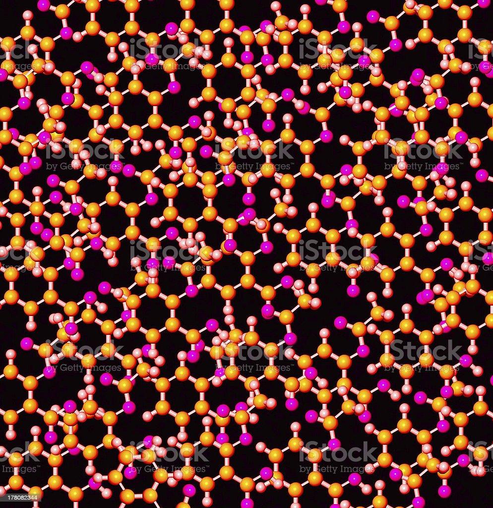 Atoms royalty-free stock photo