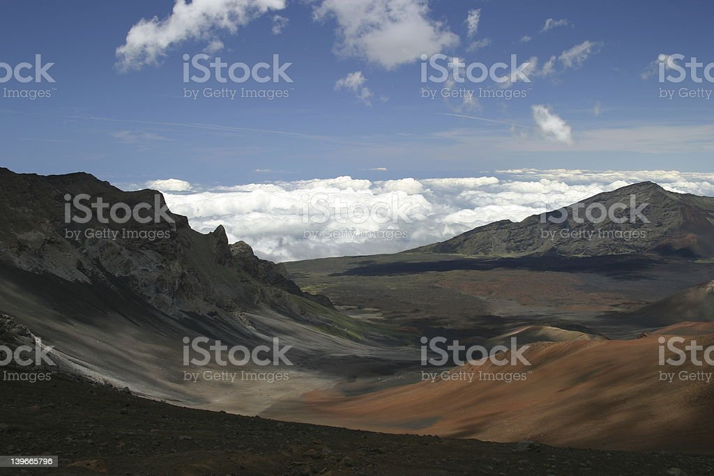 Atop Haleakala royalty-free stock photo