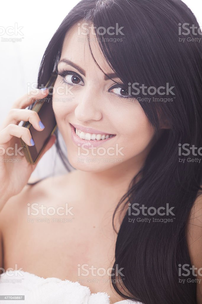atractive female royalty-free stock photo