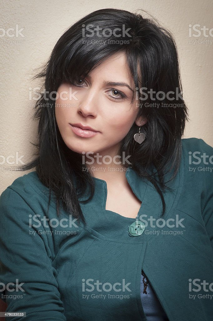 Atractive Young Woman Portrait royalty-free stock photo