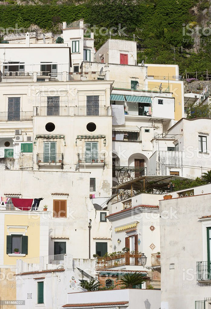 Atrani on the Amalfi Coast, Italy royalty-free stock photo