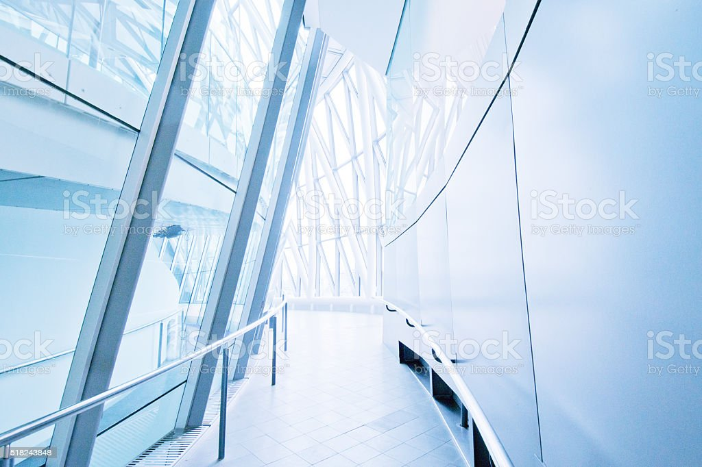 Atrium or Corridor, Hallway stock photo