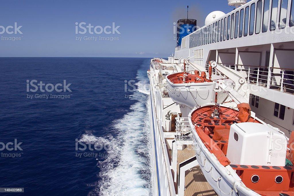 AtSea royalty-free stock photo
